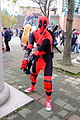 Cosplayer of Deadpool, the X-Men at CWT41 20151212.jpg