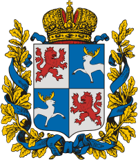 Courland Governorate COA