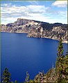 Crater Lake NP, OR, Mt. Mazama from East Rim 8-28-13e (9859728805).jpg