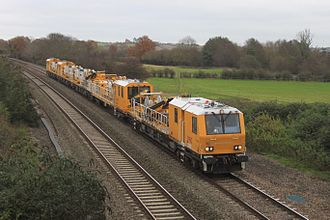 21st-century modernisation of the Great Western main line - A High Output Plant System train