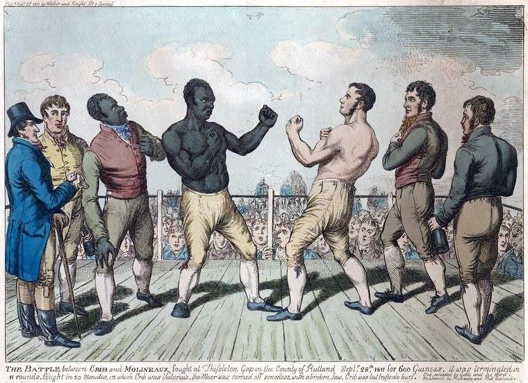 Cribb vs Molineaux 1811