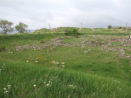 Crimea Kerch Mrirmekiy archeological site-09