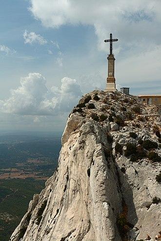 Montagne Sainte-Victoire - The Croix de Provence.