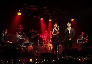 Liam O'Brien (actor) - Image: Crooning at Christmas 2 (2)