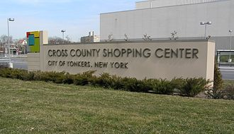 Cross County Shopping Center - Image: Cross County Shopping Center Sign March 2012