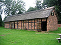 Cruck barn, Tatton Old Hall.jpg