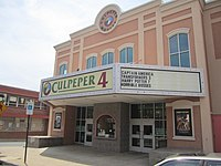 Photo of The downtown Culpeper Theater