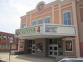 Culpeper, Virginia - Image: Culpeper Theater, Culpeper, VA IMG 4310
