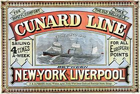 illustration de Cunard Line
