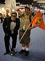 D23 Expo 2011 - Carl Fredrickson and Russell from Pixar's Up (6075272345).jpg