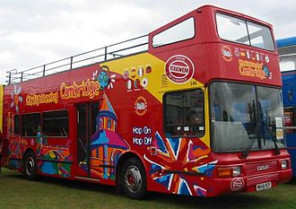 Northern Counties Palatine - Image: DAF DB250 open top bus
