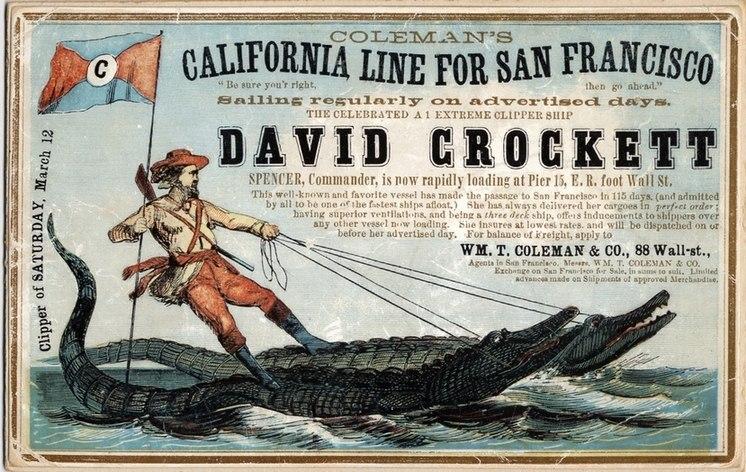 DAVID CROCKETT (Ship) (c112-01-18)