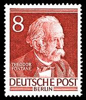 Briefmarke (1952) der Serie Männer aus der Geschichte Berlins (Quelle: Wikimedia)