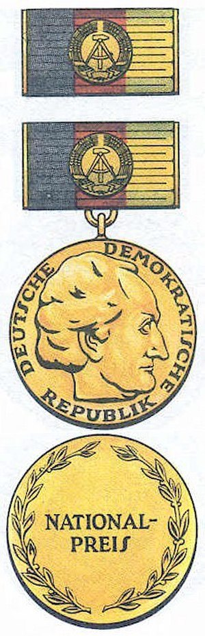 National Prize of the German Democratic Republic - Nationalpreis der DDR / DDR National Prize