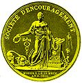 DH Goldmedaille 1809 gold.jpg