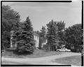 DISTANT VIEW FROM SOUTH - A. B. Jackson House, State Trunk Highway 50, Bristol, Kenosha County, WI HABS WIS,30-BRIS,1-2.tif