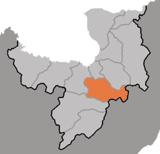 Kapsan County County in Ryanggang, North Korea