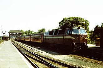 DSB Class MZ - Image: DSB MZ 1418
