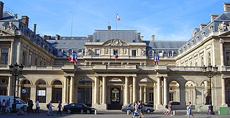 Politics of France - The Conseil d'État sits in the Palais Royal.