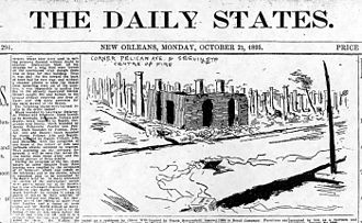 Algiers, New Orleans - After the Great Fire of 1895