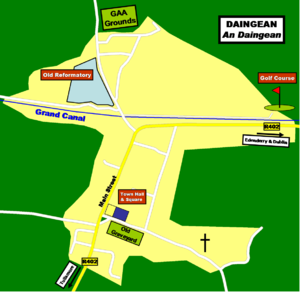 Daingean - Map of Daingean