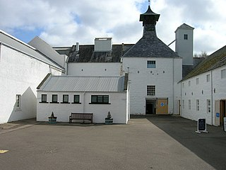 Dallas Dhu distillery category A listed building