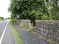 Damaged wall by Southbar Road - geograph.org.uk - 501516.jpg