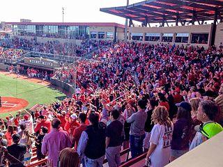 Dan Law Field at Rip Griffin Park Baseball stadium at Texas Tech University in Lubbock, TX