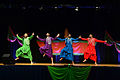 Dancers perform a traditionsl North Indian style of dance called Bhangra at the 2013 Pentagon Diwali celebration.jpg