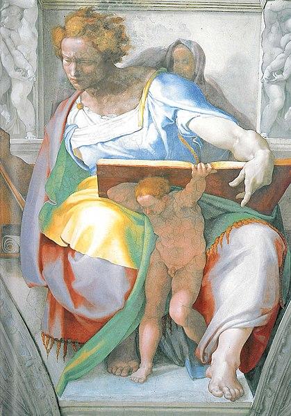 Michelangelo, The Prophet Daniel