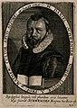 Daniel Schwenter. Line engraving by C. Ammon, 1650. Wellcome V0005339.jpg