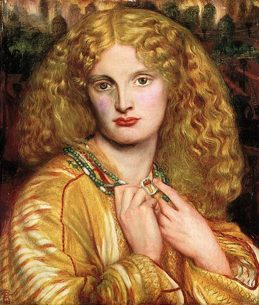 """Helen of Troy"" by Dante Gabriel Rossetti"
