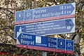 Danube Bike Trail Sign Belgrade.JPG