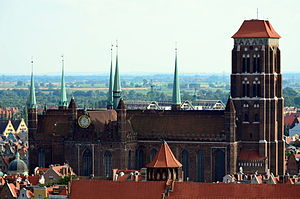 Danzig Marienkirche Profil (2011)