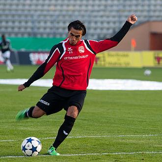 Darío Lezcano - Image: Dario Lezcano Lausanne Sport vs. FC Thun 22.10.2011