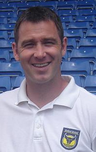 Darren Patterson - Patterson with Oxford United
