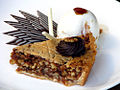 Date and Walnut Pie and Ice Cream (2281731795).jpg