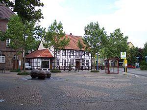 Datteln - Image: Datteln Alter Marktplatz Tigg