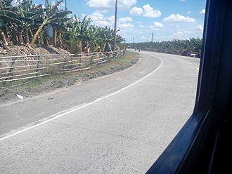 Santo Tomas, Davao del Norte - Davao del Norte Circumferential Road, Sto. Tomas-Panabo leg, Brgy. Balagunan, Sto. Tomas, Davao del Norte.