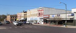 Downtown David City: E Street