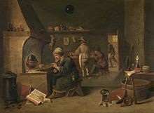 David teniers the younger wikipedia for Interieur flamand