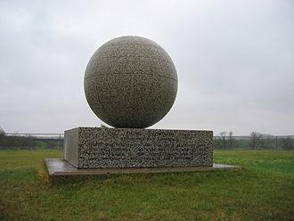 Verendrye, North Dakota - David Thompson Memorial