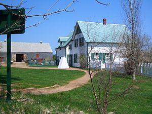 Anne of Green Gables - The Green Gables farmhouse located in Cavendish