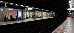 De Brouckère metro station - De Brouckère metro station