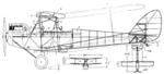 De Havilland Moth detail Le Document aéronautique April,1927.png