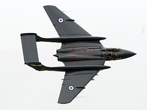 De Havilland Sea Vixen - Image: De Havilland Sea Vixen at Yeovilton 2009