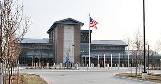John D. Dingell Transit Center - The John D. Dingell Transit Center, one week after opening in Dearborn, Michigan