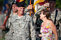 Defense.gov News Photo 100723-A-0193C-008 - Annie McChrystal and her husband Gen. Stanley A. McChrystal smile during his retirement ceremony at Fort McNair in Washington D.C. on July 23.jpg