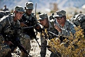 Airman Battle Uniform - Airmen wearing ABUs on exercise