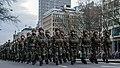Defilé Korps Mariniers op de Coolsingel te Rotterdam ter ere van het 350 jarig bestaan. (23331034459).jpg